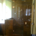 "3/8"" Frameless Steam Shower"