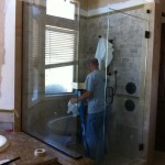 "3/8"" Frameless Door, Inline, and Return"
