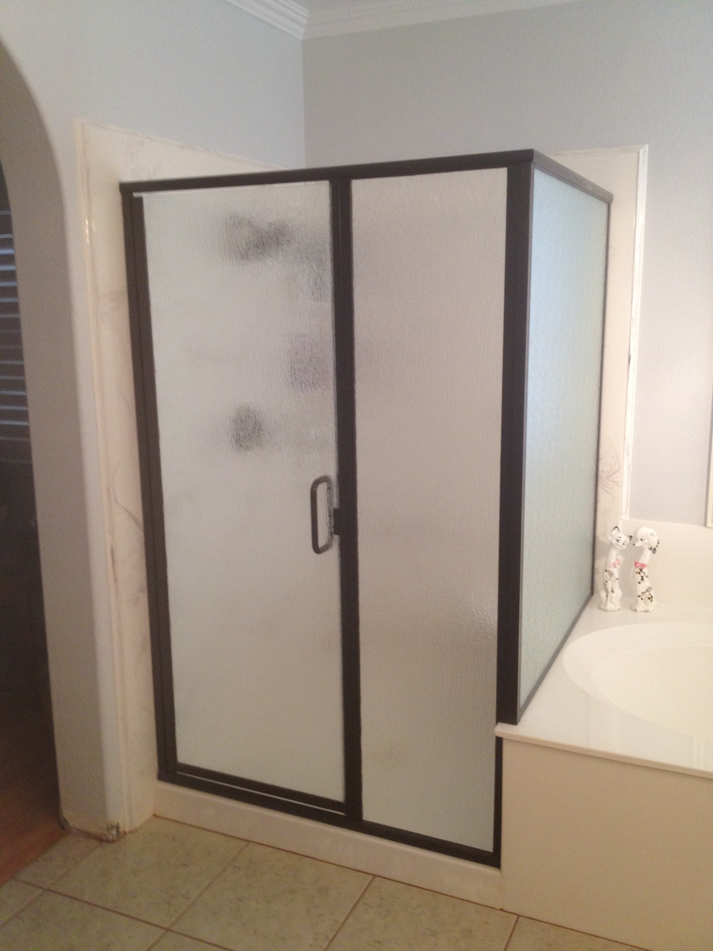 Semi Frameless Shower Enclosures semi- frameless shower door | kerabath blog