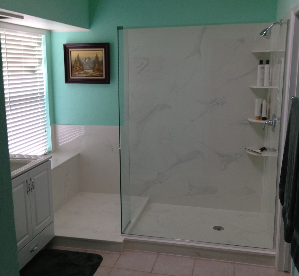 bath shower inc tile versus cultured marble cultured granite